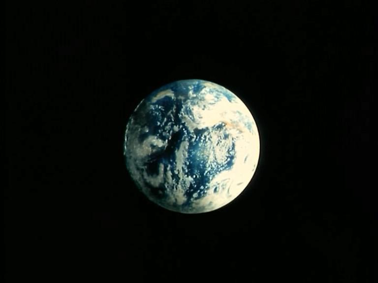 Actual Photo of Earth Earth Rather Actual Space