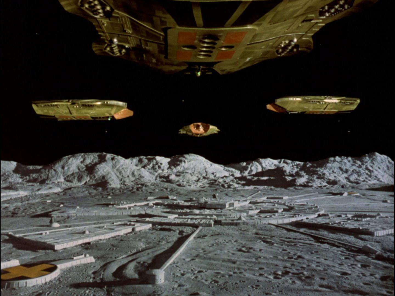 Space 1999 Catacombs Jarak Ship