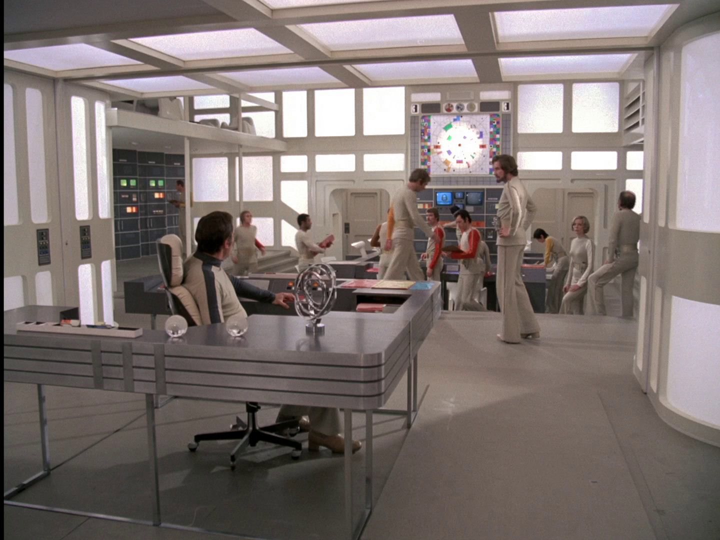 Main Mission Moonbase Alpha