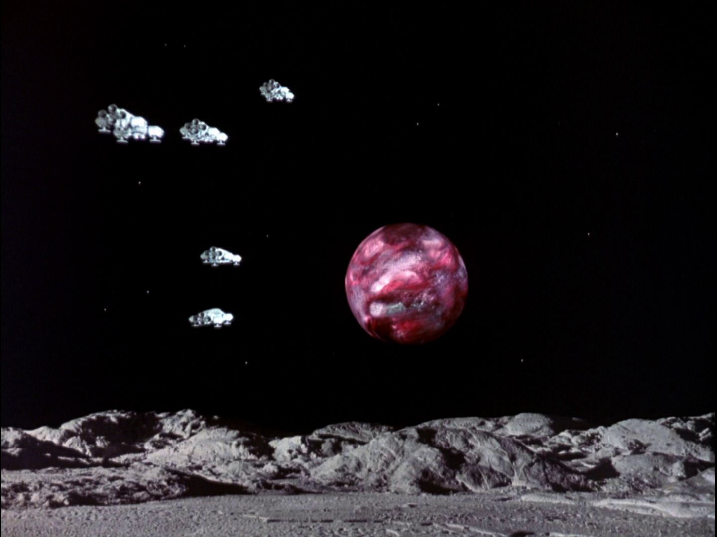 Space: 1999 Recycled scenes