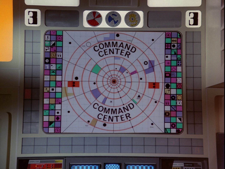 Command Center Big Screen- Moonbase Alpha Guide