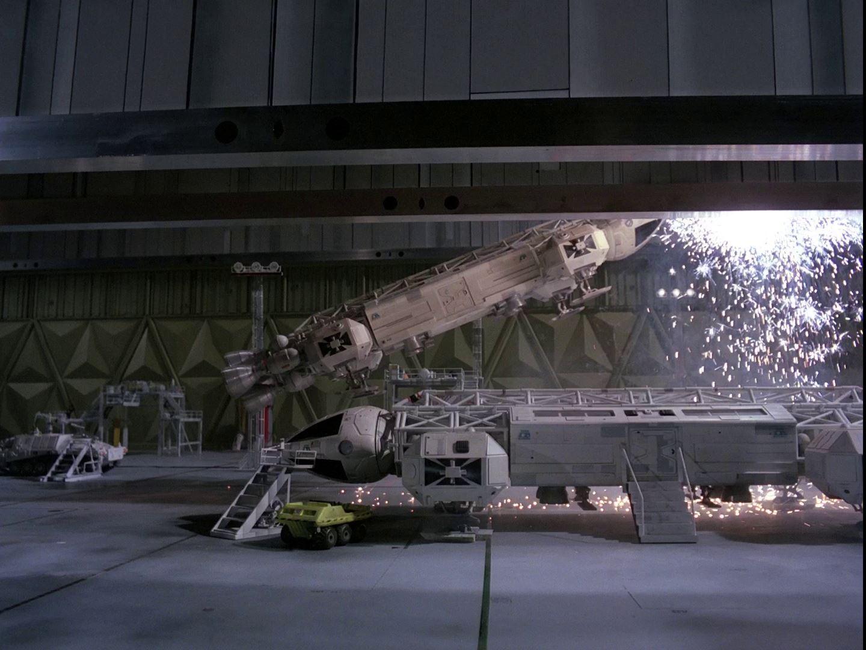 Space 1999 Eagle Transporter Pod