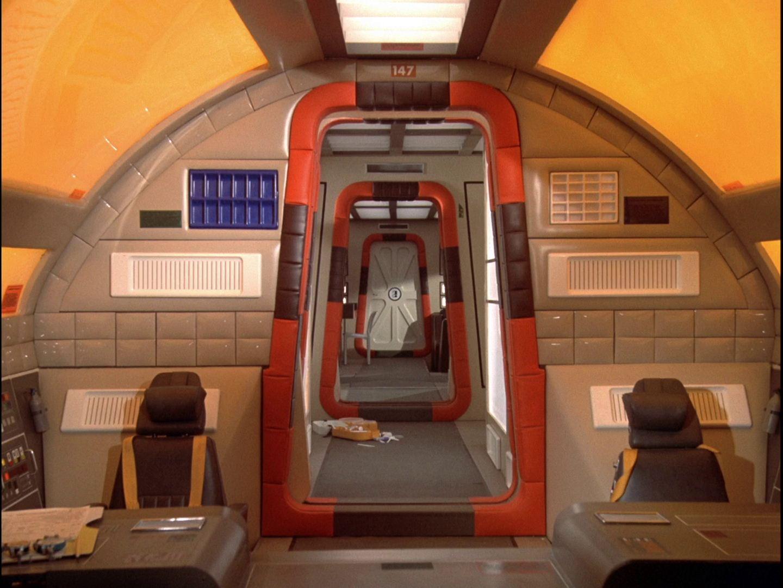 Space 1999 Eagle Cockpit