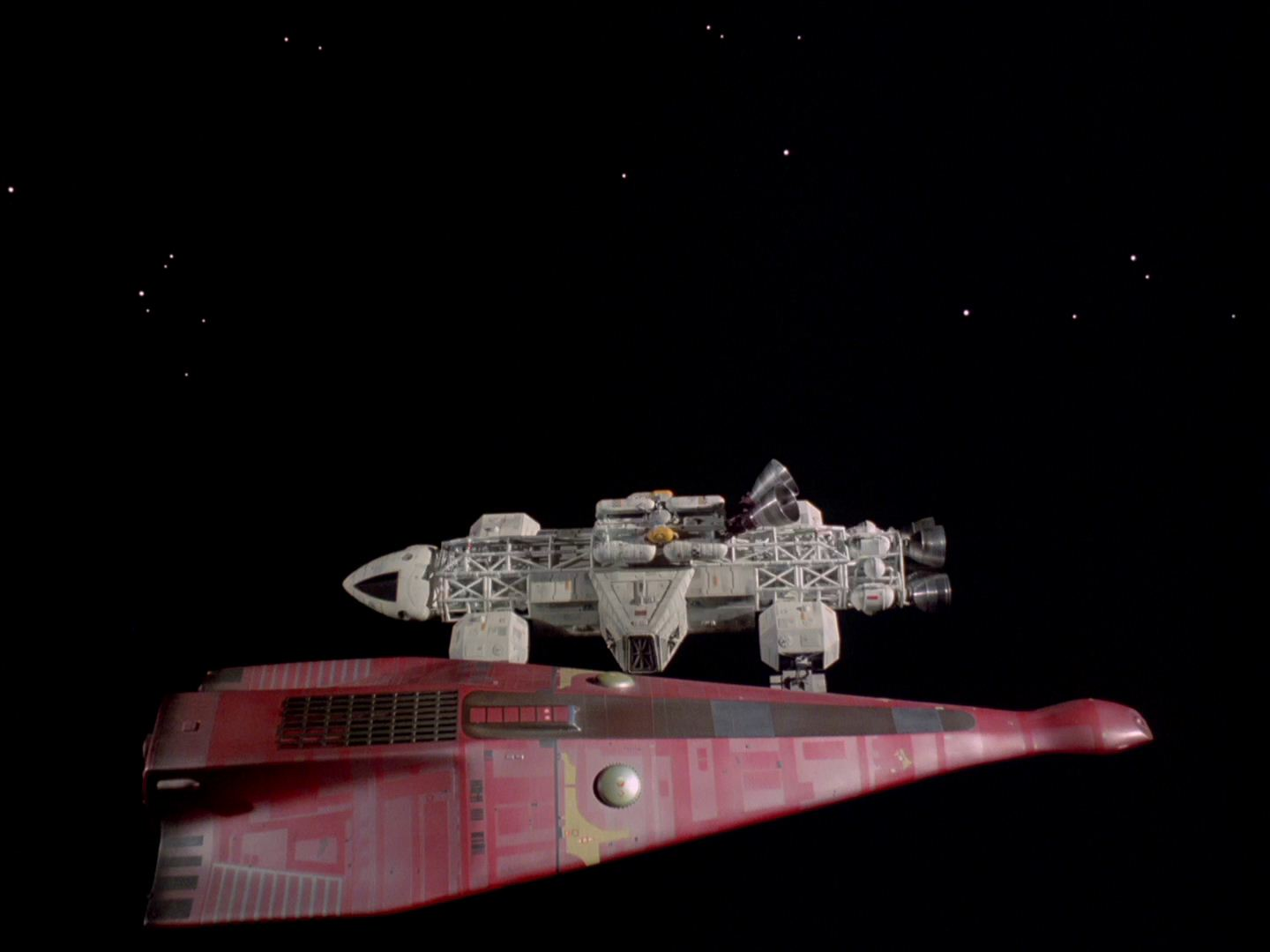 Space 1999 Catacombs- Psychon Ship