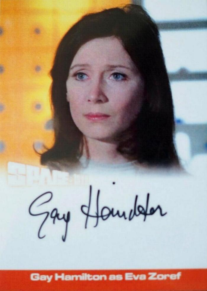 Unstoppable Space 1999 Series 3 Autograph Card RULA LENSKA as Joan Conway RL1