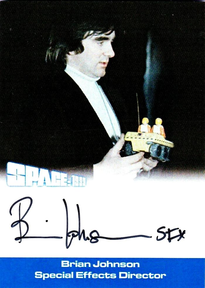 BRIAN JOHNSON SPACE 1999 SERIES 3 SPECIAL EFFECTS DIRECTOR AUTOGRAPH S3-BJ2