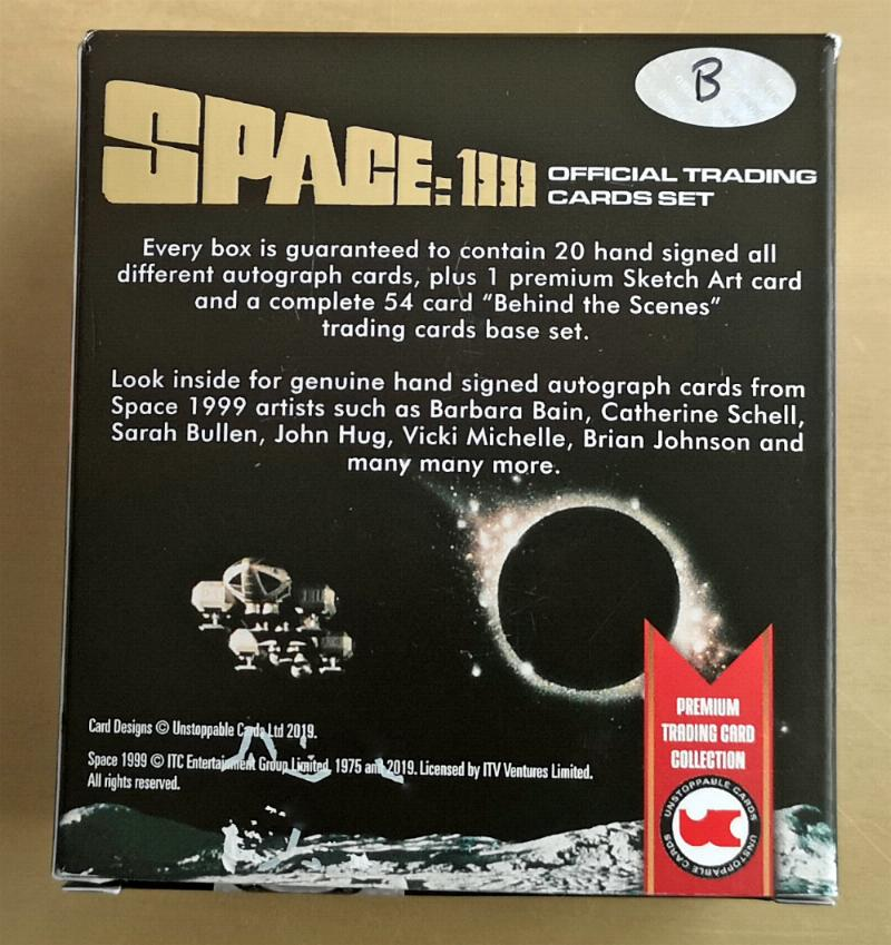 Space 1999     Full set of  54   Trading Cards