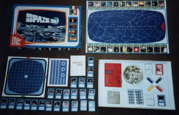 Space 1999 Merchandise Guide Games