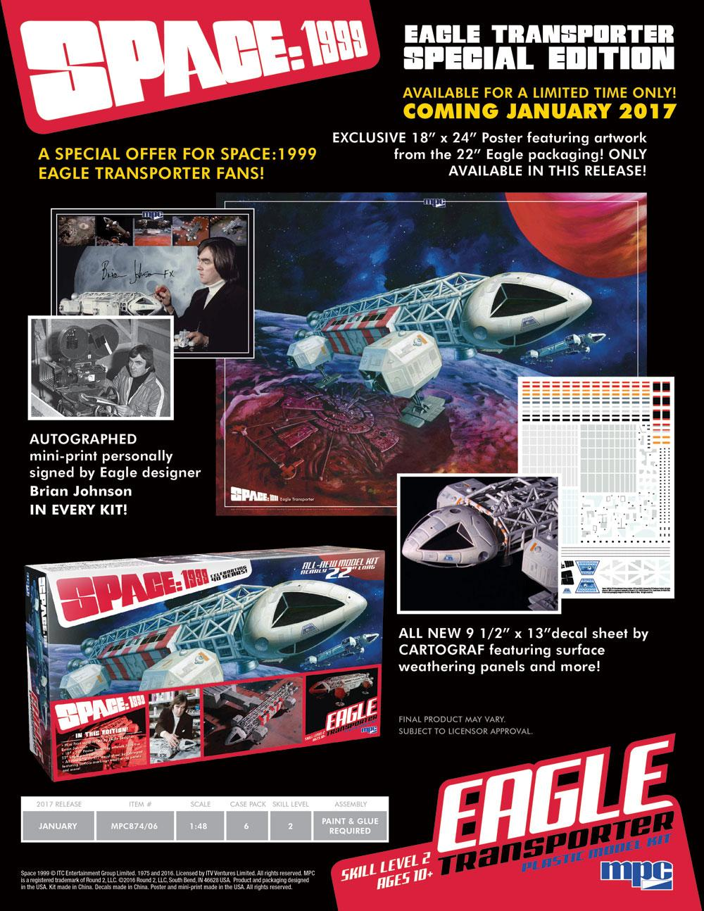 Space 1999 Round2 Eagle Models