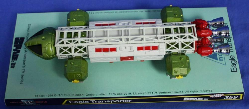 Dinky 359 Space 1999 Eagle Transporter Reproduction Red Plastic Pod Door