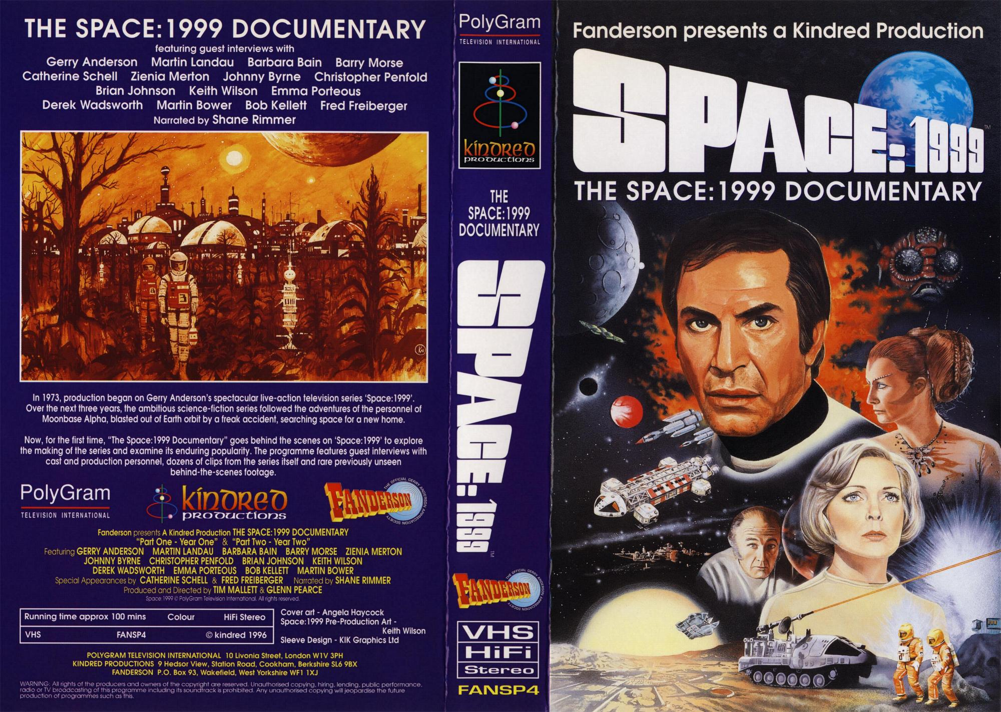 Space 1999 merchandise guide fan multi media for Space documentaries
