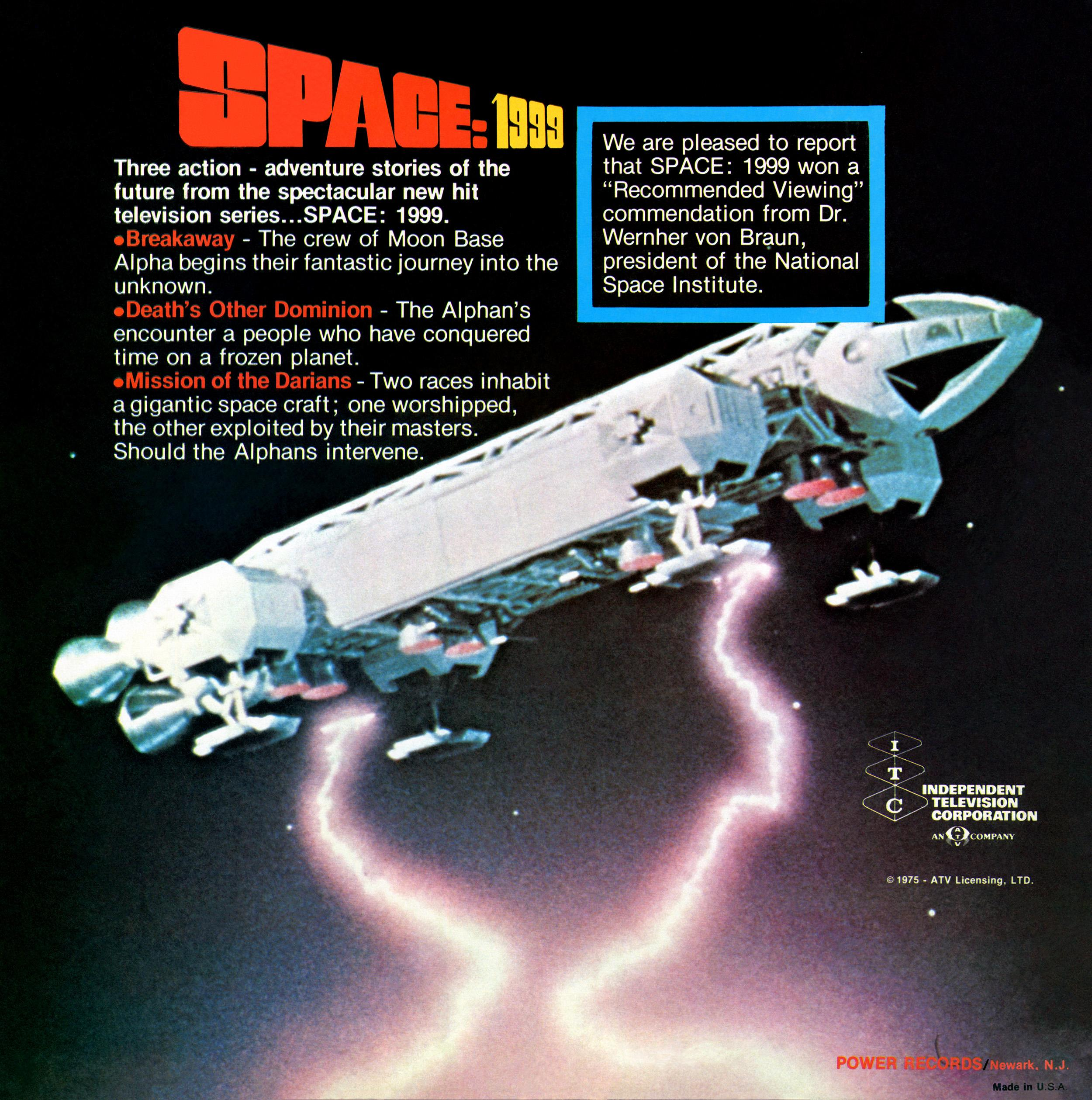 Space 1999 Merchandise Guide: Soundtracks