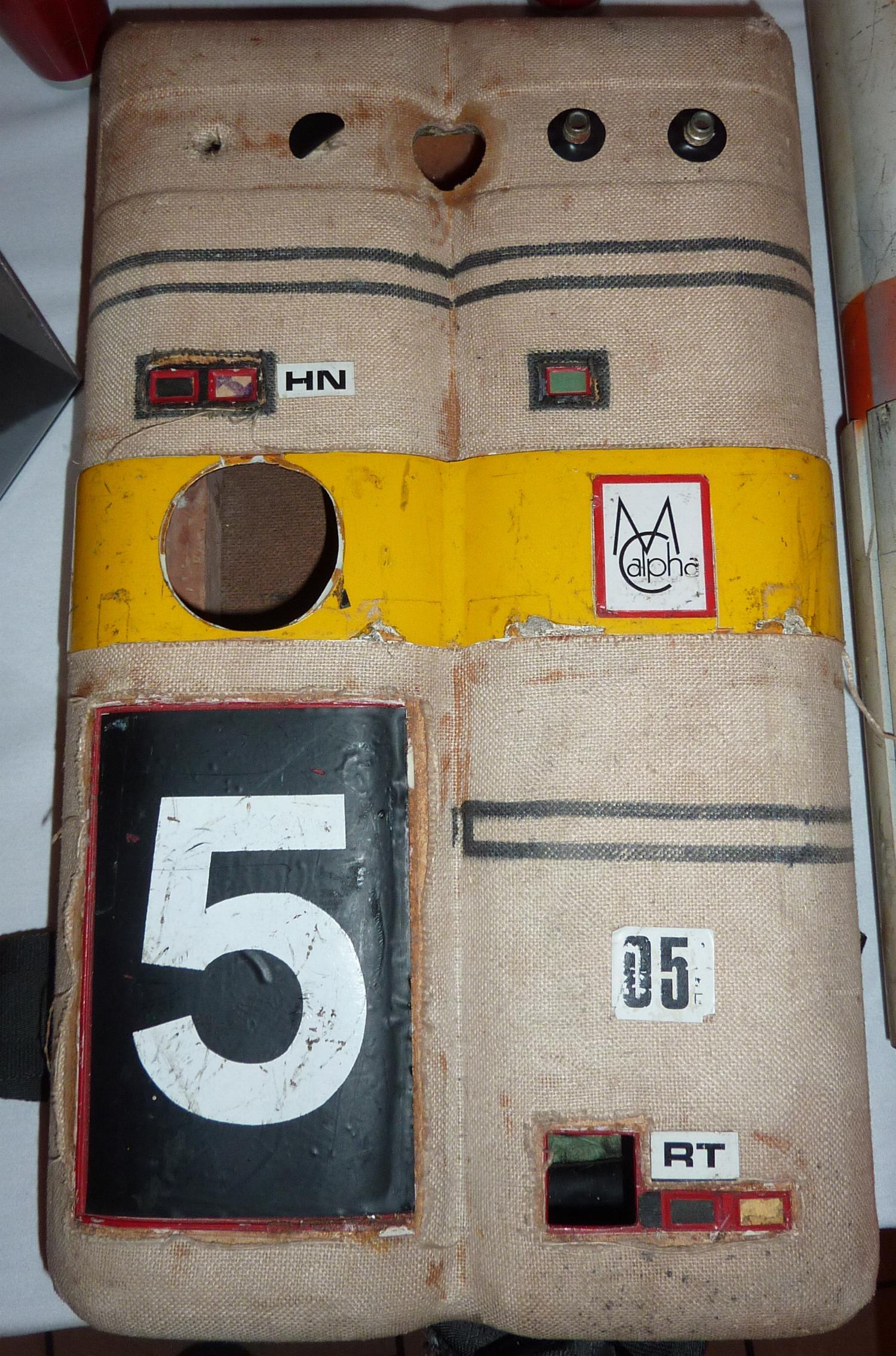 Space 1999 Spacesuit backpack