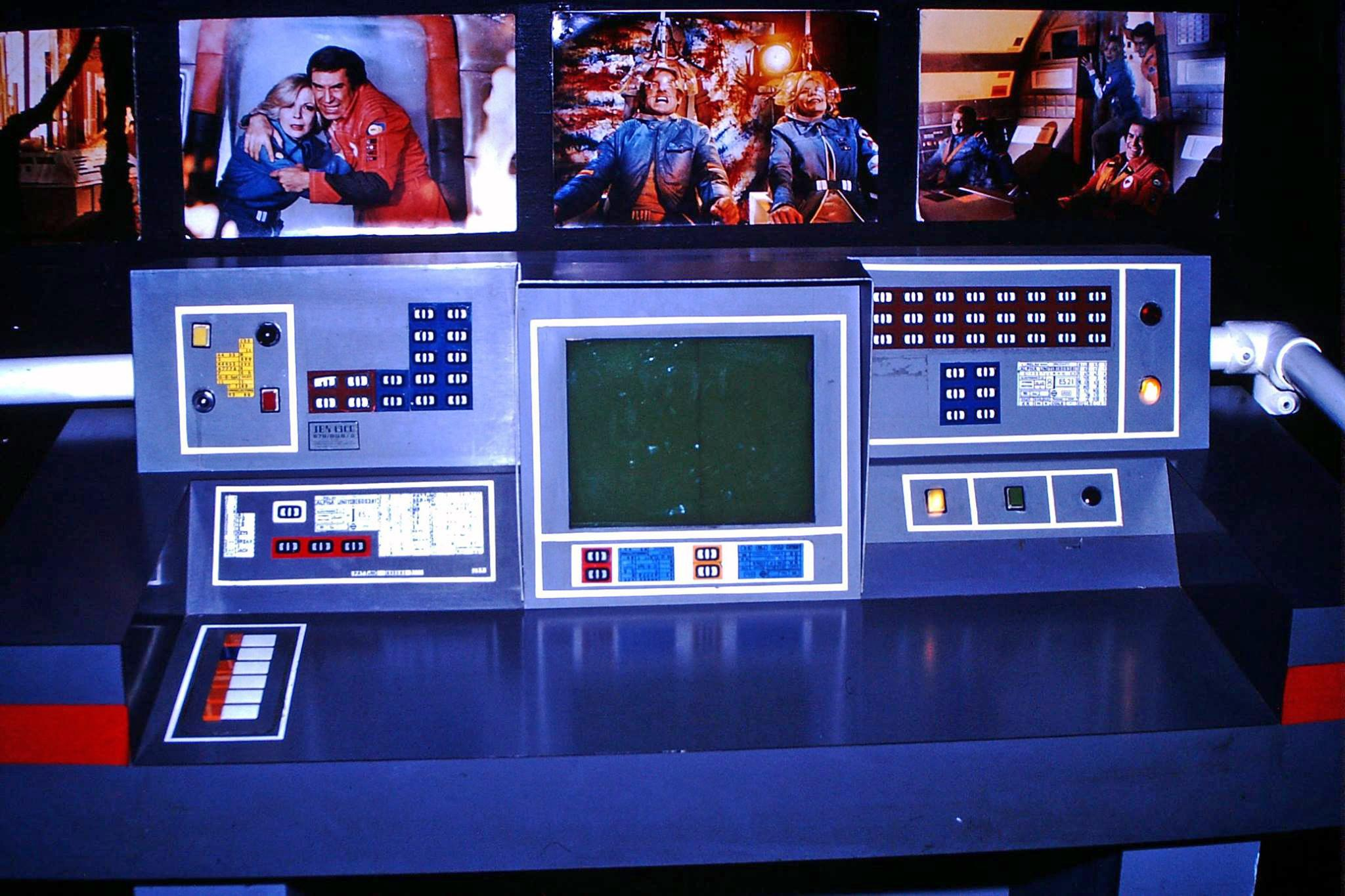 Space 1999 Catacombs Model Images