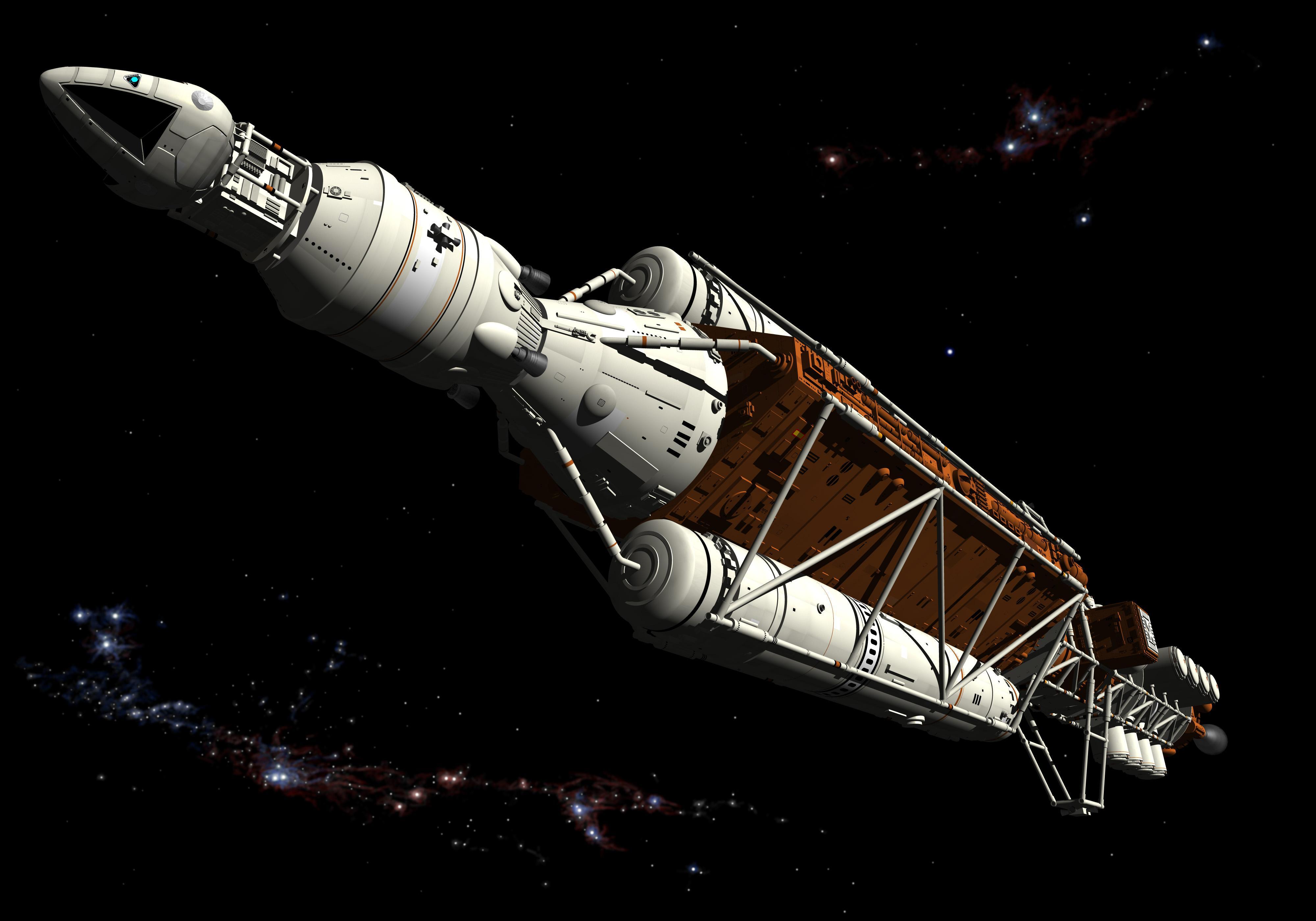 space 1999 spacecraft designs - photo #25